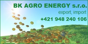BK AGRO ENERGY s.r.o. - export, import